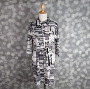 J. McLauglin Belted Dress